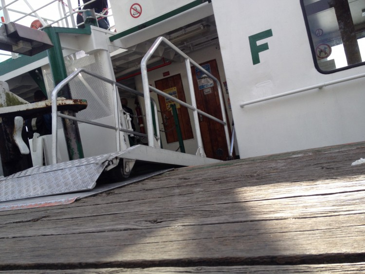 Einfach aufs Schiff?