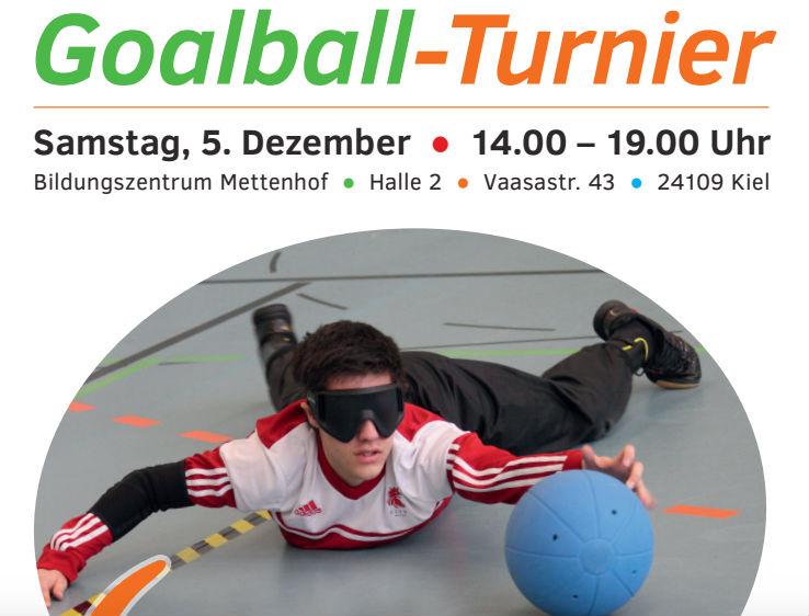 Goalballturnier in Kiel