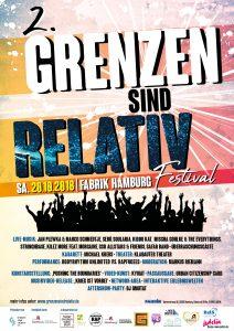 Grenzen sind Relativ – Festival in Hamburg