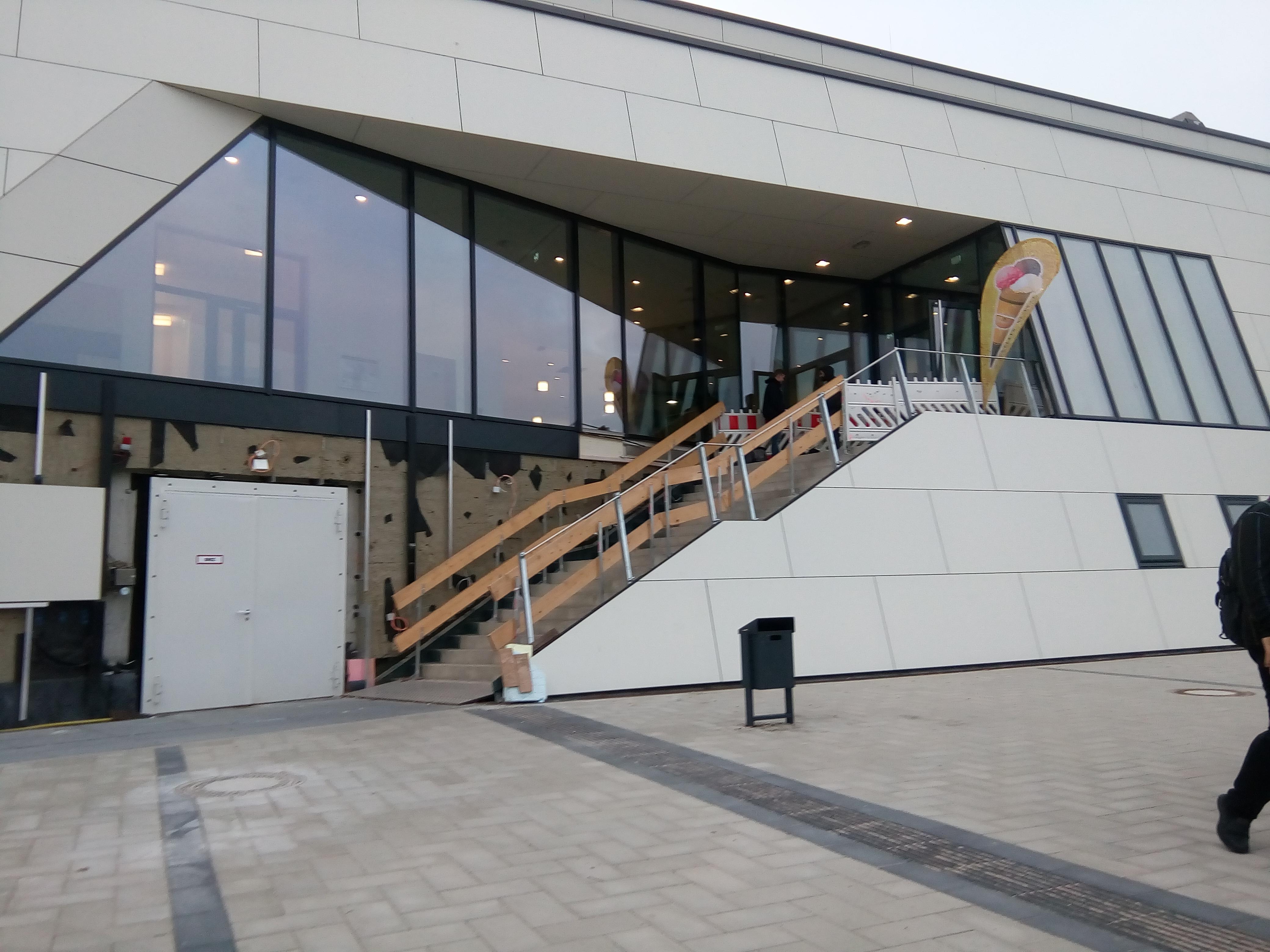 Eingangsbereich Hörnbad