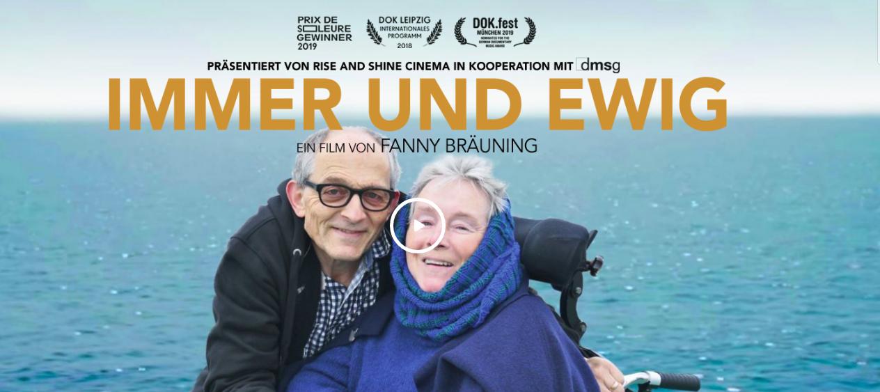 Filmcover Immer und Ewig, 2 Personen vor dem Meer